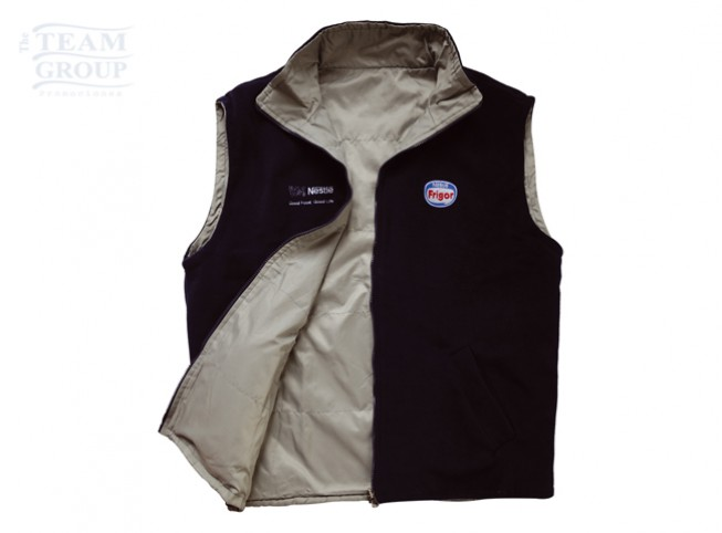 Chaleco reversible patagonia articulo promocional personalizable merchandising