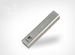 Power Bank Aluminio Square Plateado